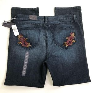 NYDJ Size 18W (Act 38W 32.5L) Straight Jeans NWT